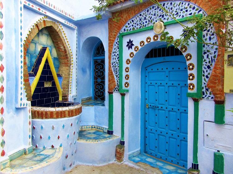 Morocco - Chefchaouen - Door