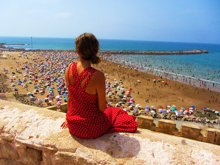 Morocco - Rabat - Beach
