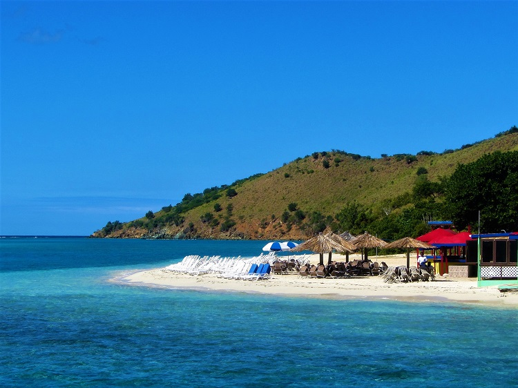 Sandbox Beach in North Sound BVI