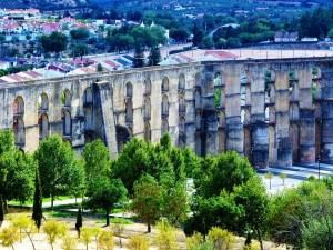 Aquaduct in Elvas