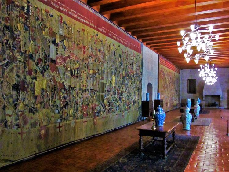 Tapastries at Duke of Braganza Palace