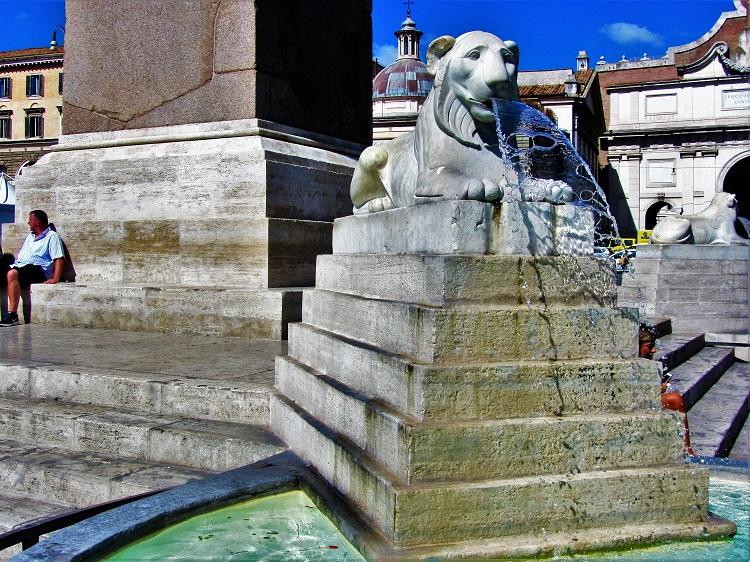 Italy - Rome - Piazza del Popolo 2