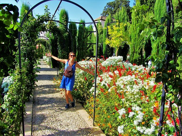 Garden in Alhambra