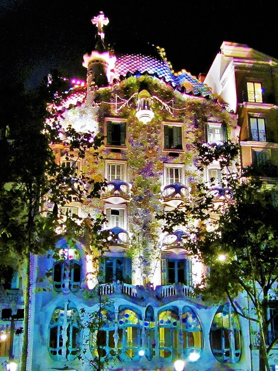 POTD - Spain - Barcelona - Gaudi - Casa Batlló