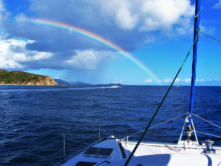 Motoring With A Rainbow
