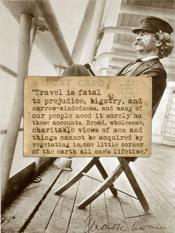 Traveler is fatal to....