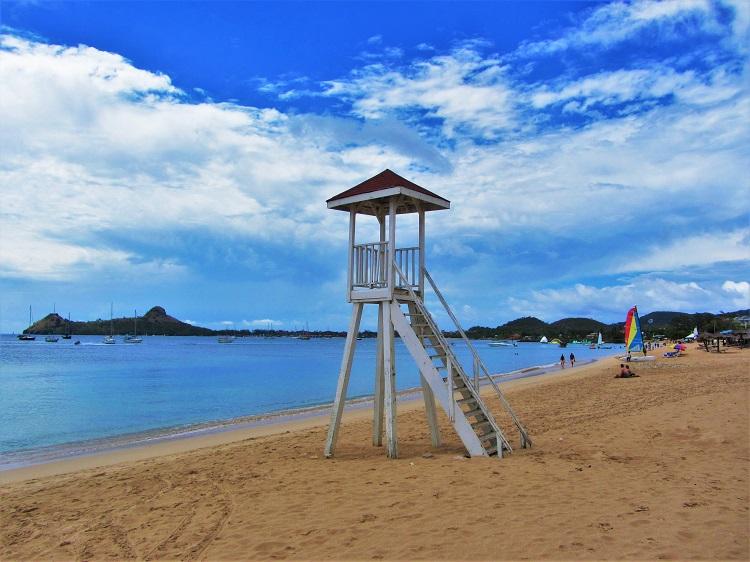 Reduit Beach in Rodney Bay