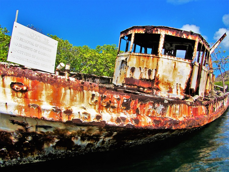 Shipwreck on Carriacou