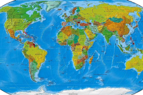 Map - x My Route - World