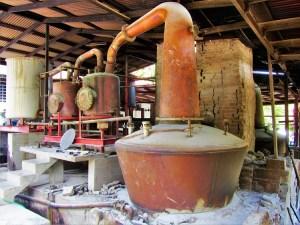 River Antoine Rum distilling