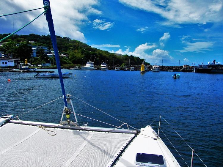 Sailing to Tobago