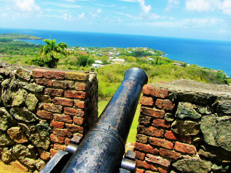 Cannon from Fort King George