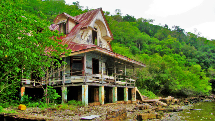 Doctor's house at Chacachacare Leper Colony