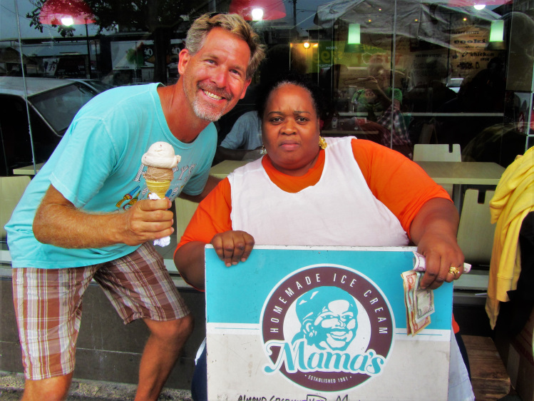 Port of Spain - Mamas Ice Cream