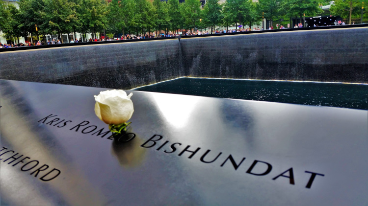 World Trade Center Memorial POTD 2