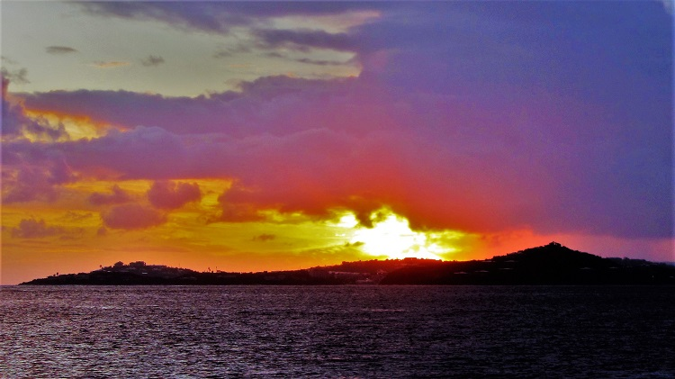 Misc - Sunset Over Red Hook, St Thomas - USVI