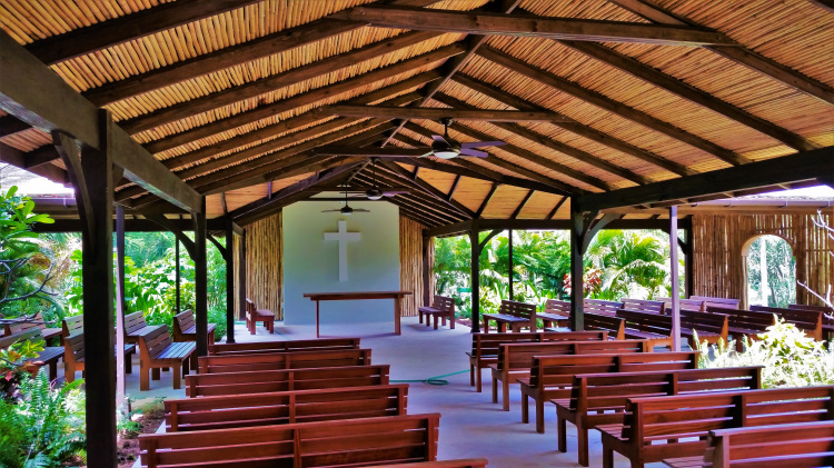 Island Tour - Bamboo Church POTD