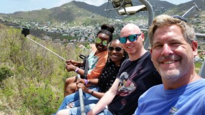 Rockland Adventures - Chairlift With New Friends