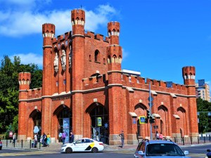 King's Gate in Kaliningrad
