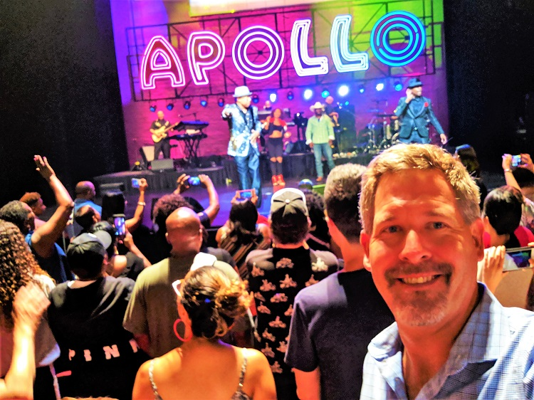 Apollo Theater - Me