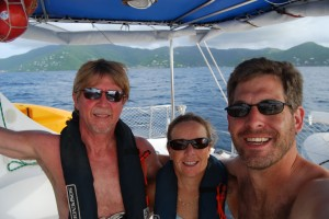 Leaving the BVI for offshore sailing experience