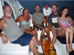 Crews of Guiding Light & Southern Cross when we were buddy boating