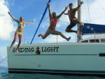 Jump for joy we are on the Guiding Light