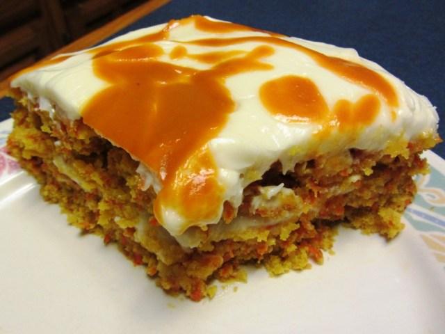 Carrot Mango Cake