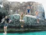Jumping Off A Rock With Captain Shane