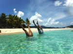 Sandy Cay - Hand Stands