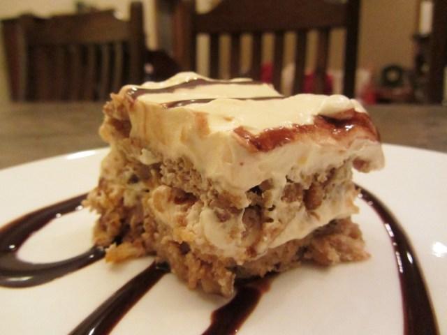 Orange walnut torte