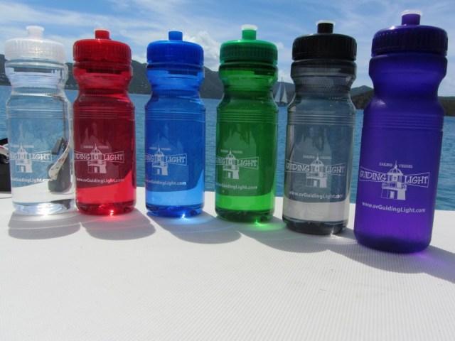 New water bottles