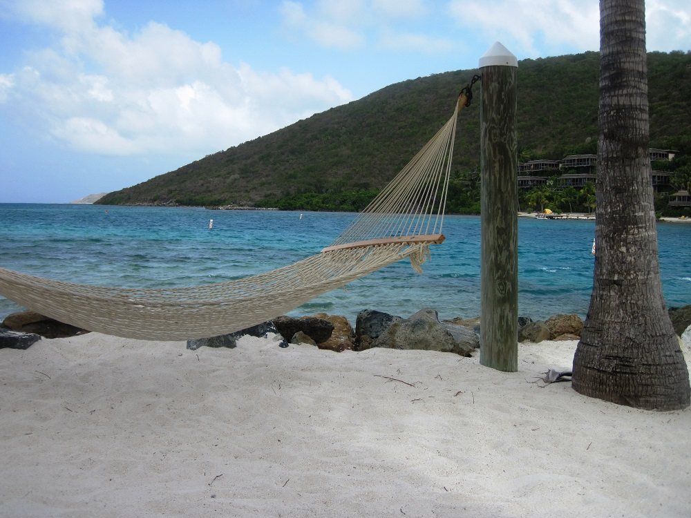 Hammock on Saba Rock