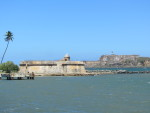 Small fort with El Morro in the background