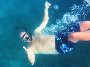 I love snorkeling