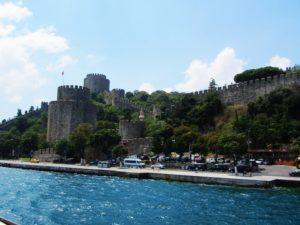 Turkey - Istanbul - Boat Tour - Castle