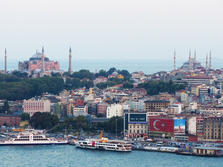 Turkey - Istanbul - Hagia Sophia & Blue Mosque