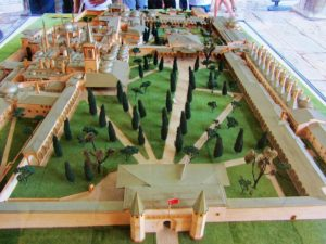 Turkey - Istanbul -Topkapi Palace - Model