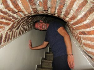 Turkey - Istanbul - Galata Tower - Me In The Stair