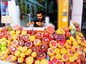 Turkey - Istanbul - Food - Juice Stand