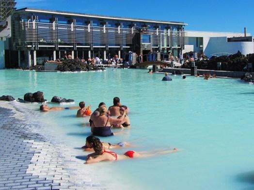 Iceland - 2 Blue Lagoon - Spa Area