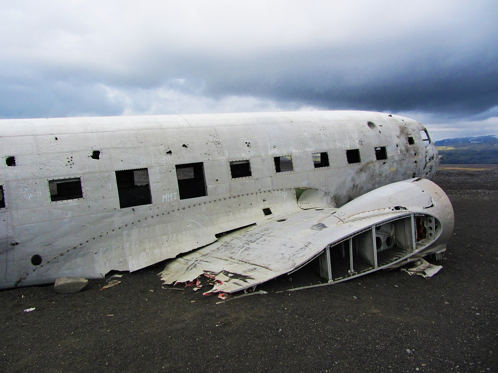 Travel - Iceland - Plane