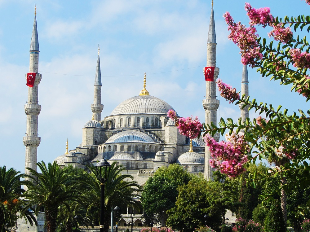 Turkey - Istanbul - Blue Mosque - Exterior