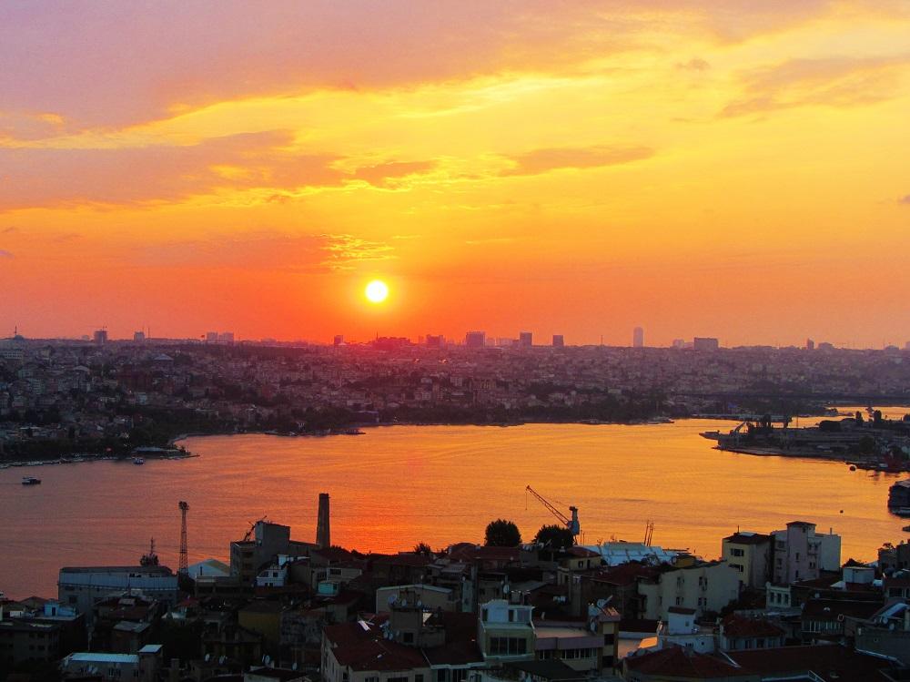 Turkey - Istanbul - Galata Tower - Sunset