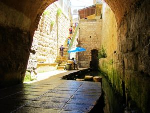 Israel - Jerusalem - City of David - The Wet Canal Pool
