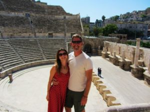 At the Roman Theater