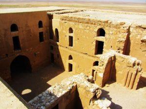 Qasr al Kharaneh interior