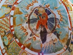turkey-cappadocia-ihlara-valley-church-ceiling