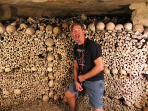 Europe - Paris - Catacombs - Me