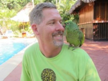 Peru - Rain Forest - Lulu The Parrot